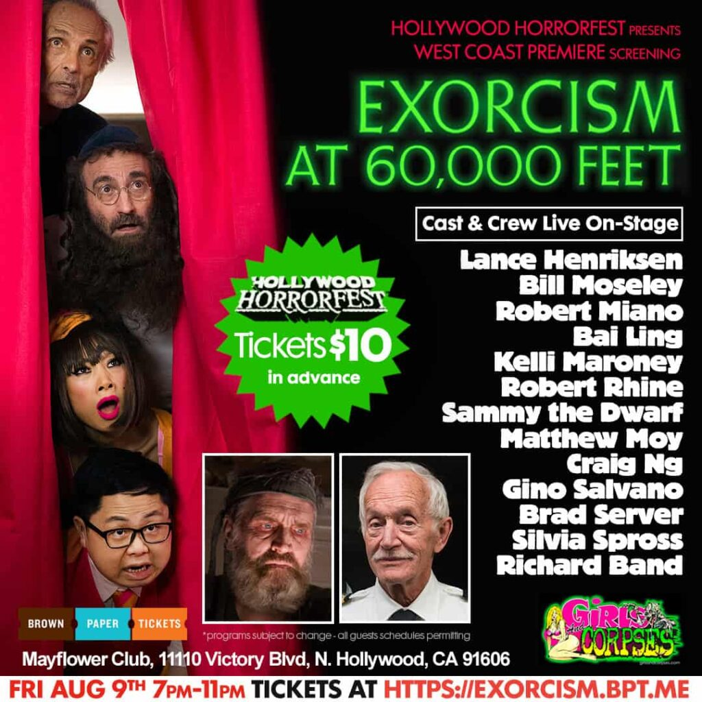 HHF 1 1024x1024 - Witness an EXORCISM AT 60,000 FEET on Opening Night of HOLLYWOOD HORRORFEST