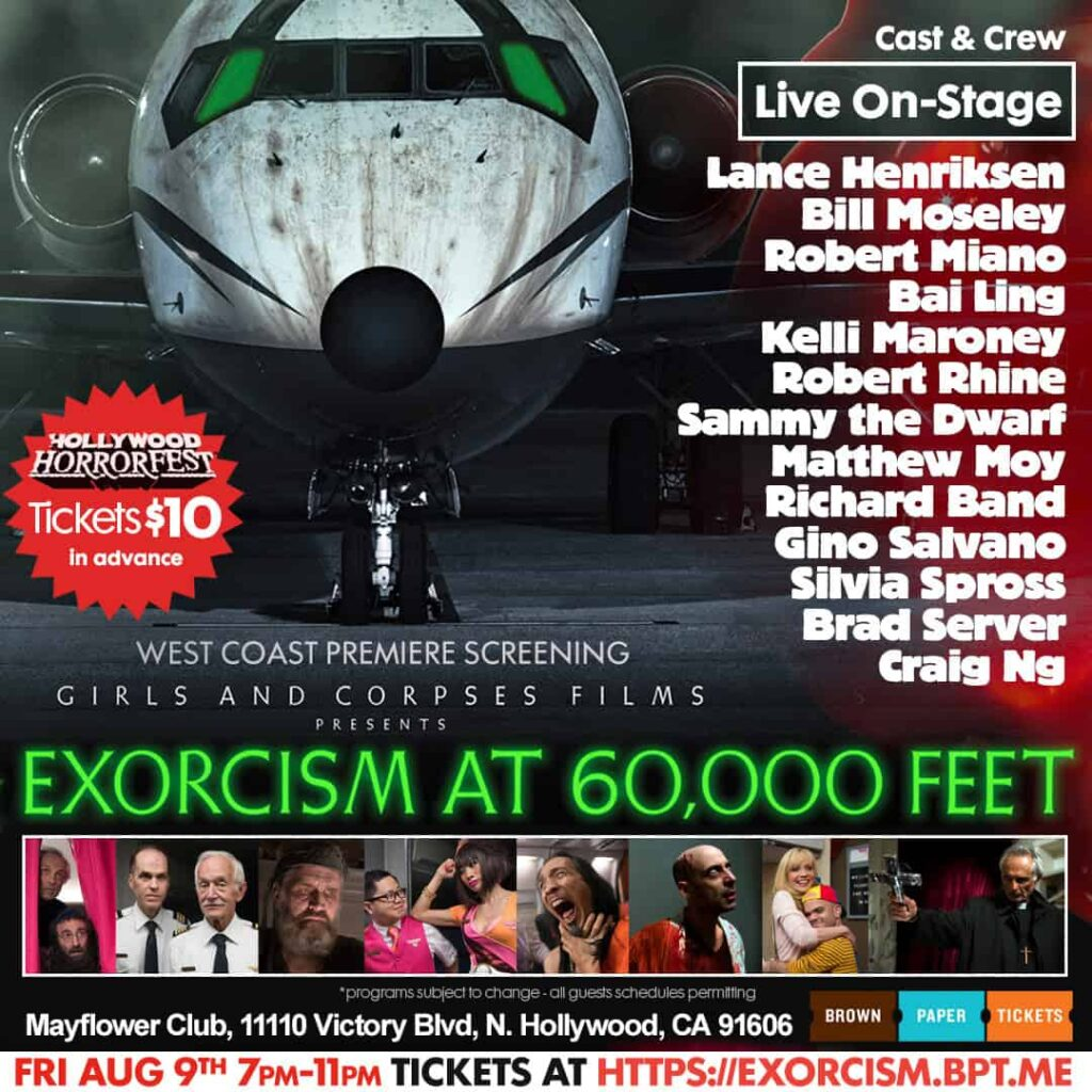 HHF 2 1024x1024 - Witness an EXORCISM AT 60,000 FEET on Opening Night of HOLLYWOOD HORRORFEST