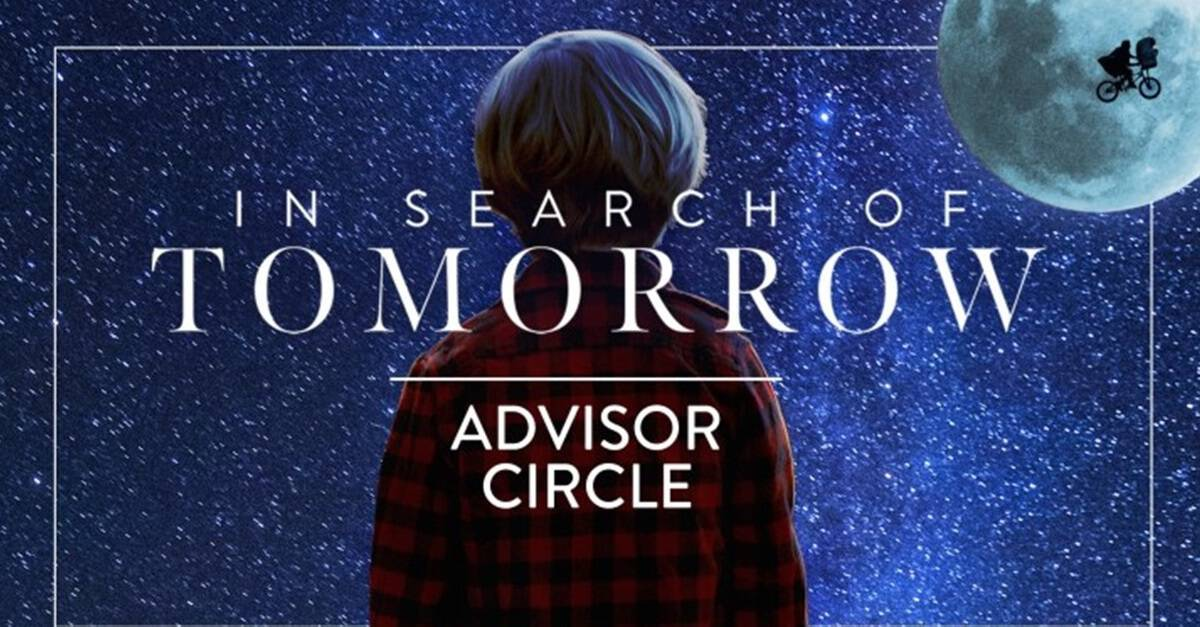 In Seach of Tomorrow Banner - IN SEARCH OF TOMORROW Sci-fi Documentary Team Launching Exclusive Advisor Circle & Events Series