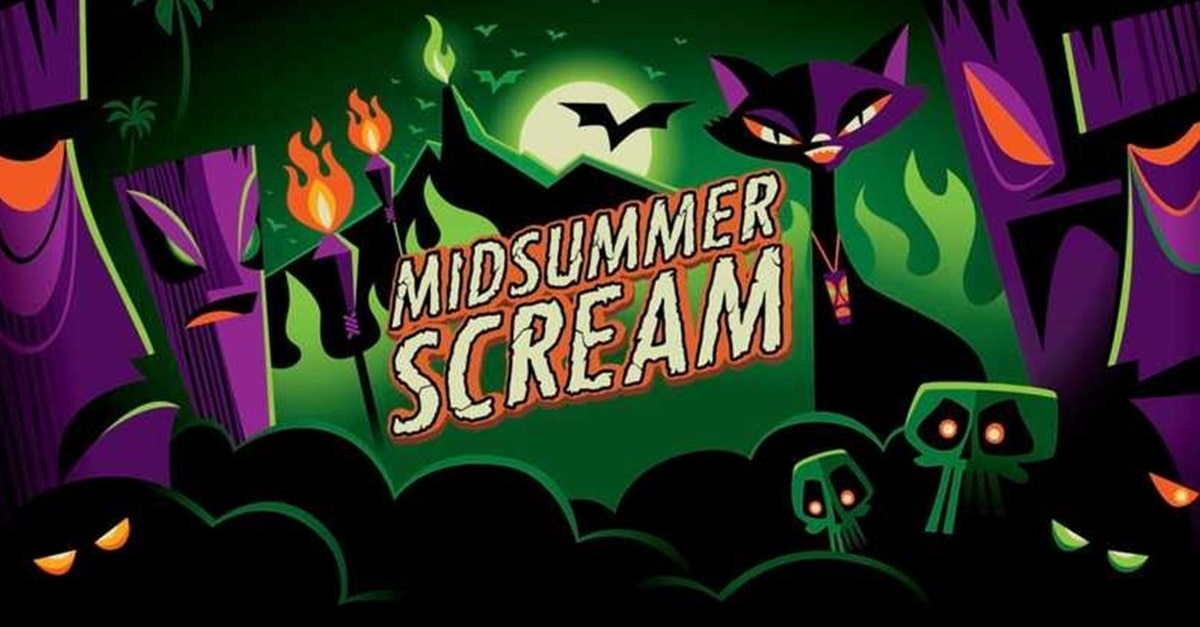 Midsummer Scream Banner - MIDSUMMER SCREAM Returning to Long Beach August 3-4! Here's What to Expect