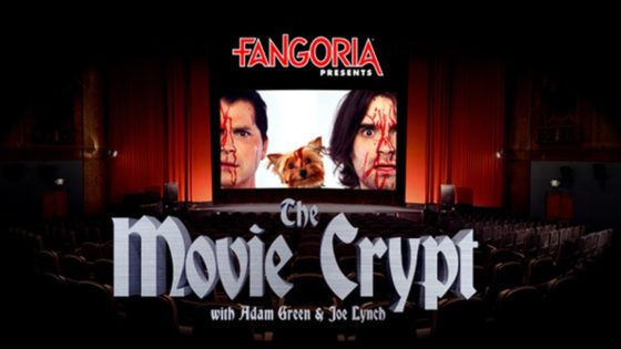 Movie Crypt Banner 560x315 - Breaking: Adam Green & Joe Lynch's THE MOVIE CRYPT Joins FANGORIA's Podcast Network!