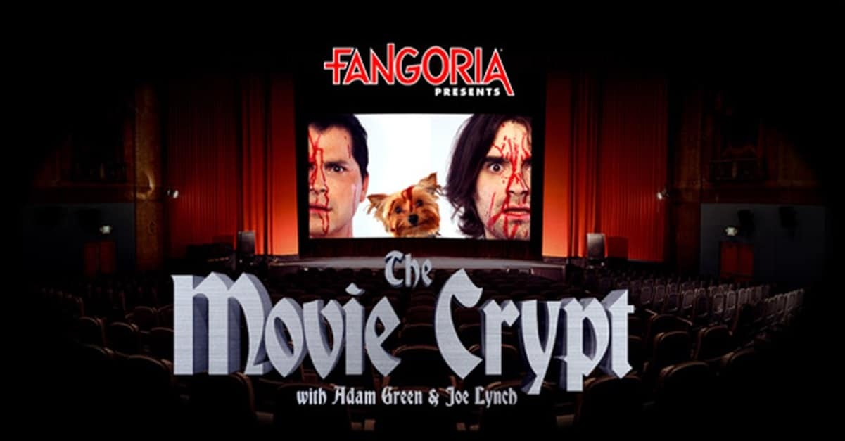 Movie Crypt Banner - Breaking: Adam Green & Joe Lynch's THE MOVIE CRYPT Joins FANGORIA's Podcast Network!