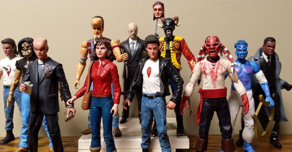 Nightbreed Action Figures Banner - Clive Barker Fan Creates NIGHTBREED Action Figures That We Wish Were Real
