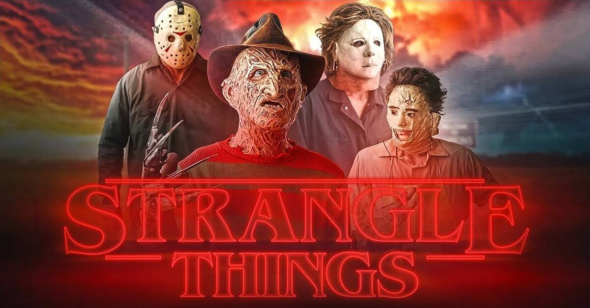 STRANGLE THINGS! Openings of Classic Horror Movies Given STRANGER THINGS Intro Treatment