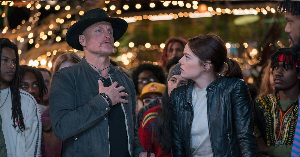 Zombieland 2 banner 2 - Emma Stone is Looking Forward to ZOMBIELAND 3--in 2029!