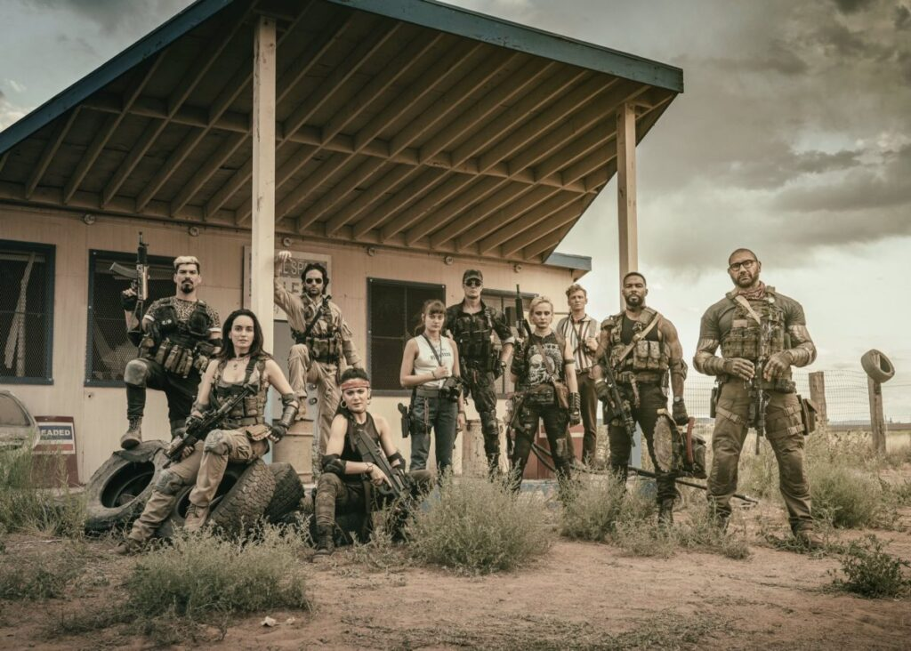 army of the dead cast e1563658002362 1024x732 - Entire Cast Assembled in First Look at Zack Snyder's ARMY OF THE DEAD