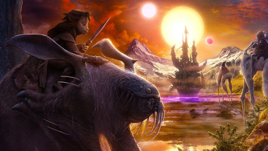 dark crystal 4 1024x576 - Dazzling Promo Art for THE DARK CRYSTAL: AGE OF RESISTANCE Coming to Netflix