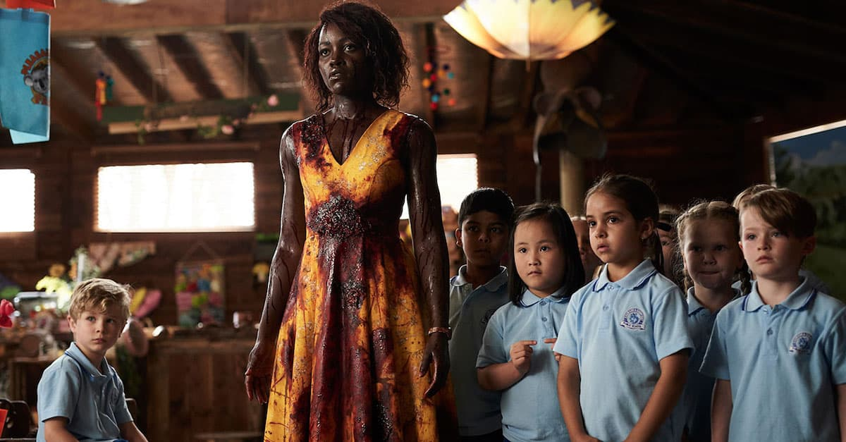 littlemonstersbanner - Lupita Nyong'o Leads Cute Kids Through Zombie Horde in Our Exclusive NSFW Clip from LITTLE MONSTERS!