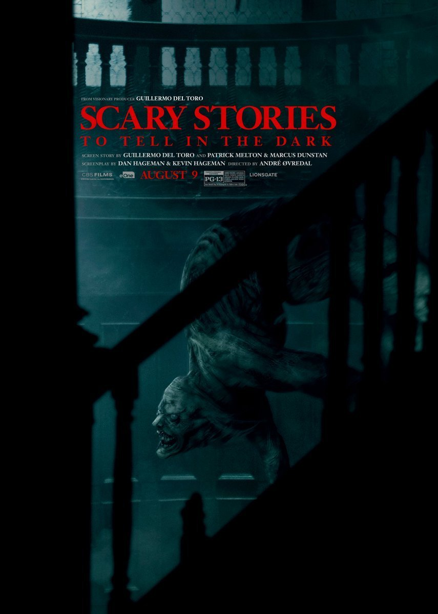 "scary stories poster - Trailer: Meet ""The Jangly Man"" in New Poster and Teaser for SCARY STORIES TO TELL IN THE DARK"