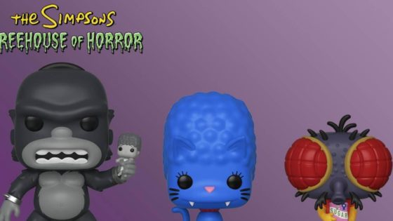the simpsons treehouse of horror funk pops image2 560x315 - THE SIMPSONS TREEHOUSE OF HORROR Funko Pops Announced