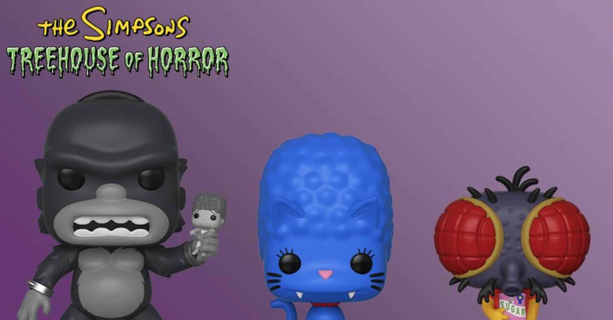the simpsons treehouse of horror funk pops image2 - THE SIMPSONS TREEHOUSE OF HORROR Funko Pops Announced