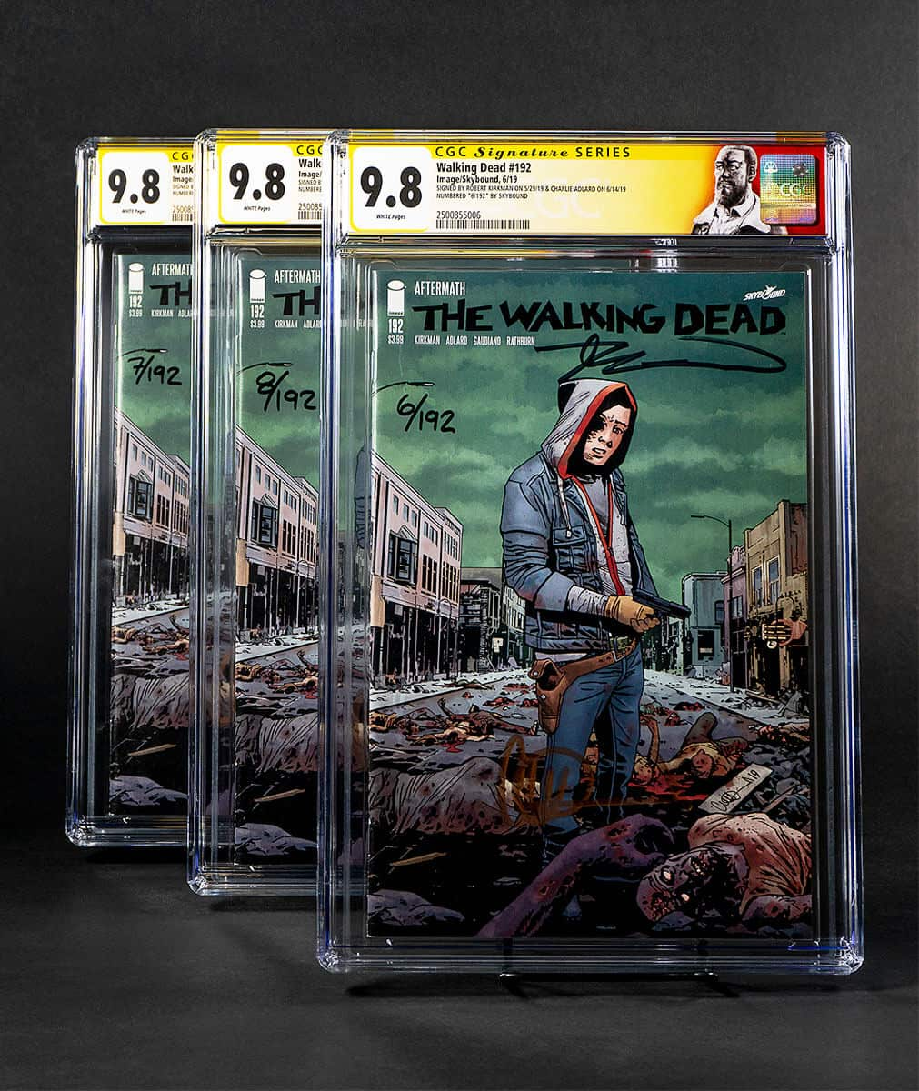 the walking dead issue 192 print 1 - Merchandise Dedicated To Rick Grimes From THE WALKING DEAD Will Be Sold At The San Diego Comic-Con