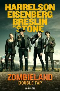 "zombieland 2 poster 198x300 - Meet ""Berkeley"" in Hippie-Hating Teaser for ZOMBIELAND: DOUBLE TAP"