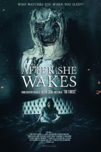 After She Wakes Poster 200x300 - Trailer: AFTER SHE WAKES Will Keep You Up at Night