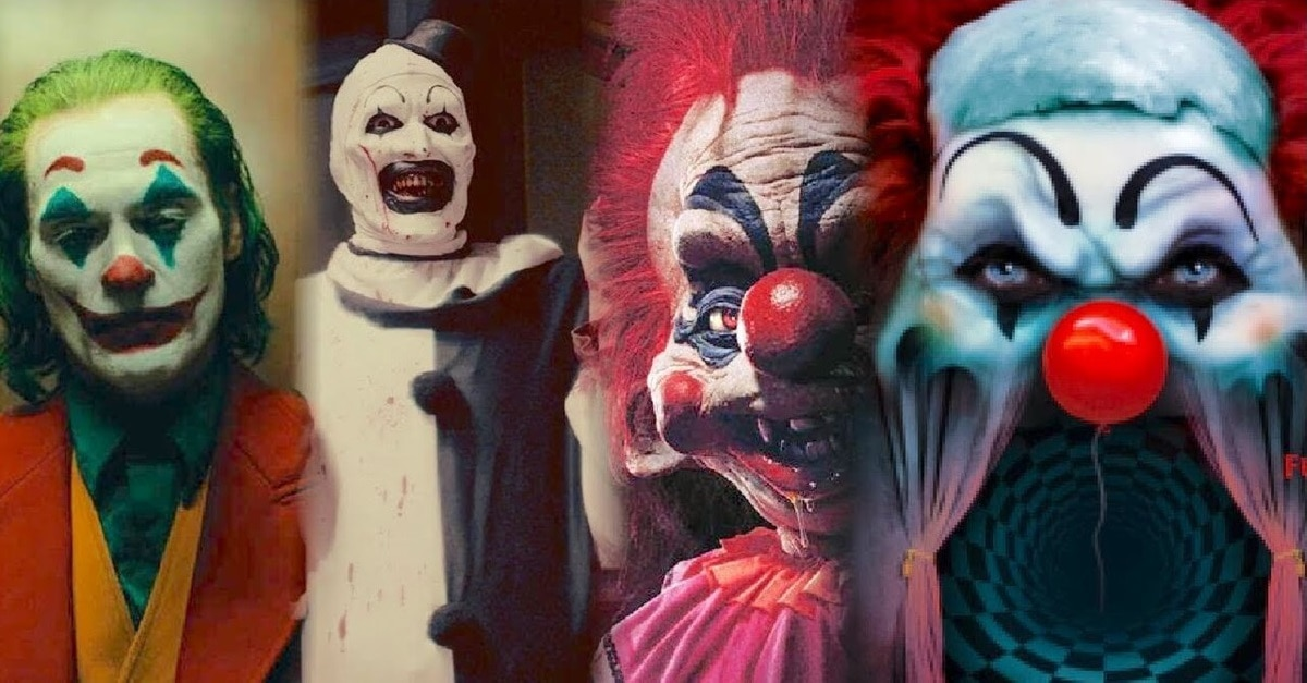 Clown Horror Movies - Video: Look Out Pennywise! There Are More Upcoming Clown Horror Movies Than You Realize!
