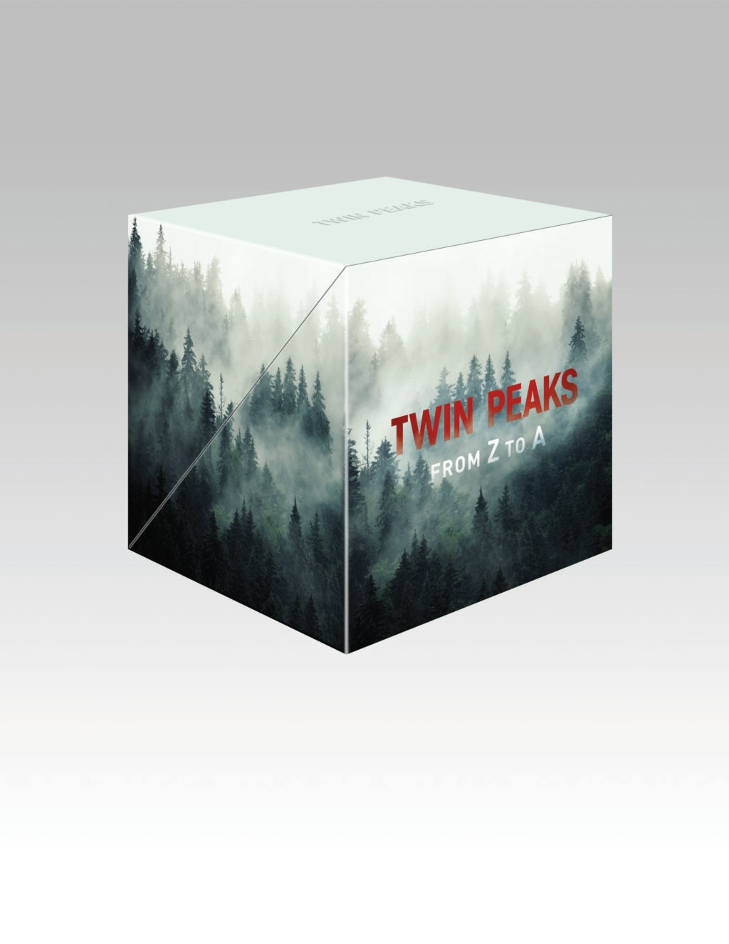 From Z to A Cube 1024x1325 - TWIN PEAKS: FROM Z TO A Is A Damn Fine Collection!