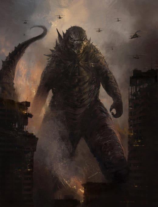 Godzilla 19 - Michael Dougherty Drops a Gaggle of Concept Art Images from GODZILLA: KING OF THE MONSTERS