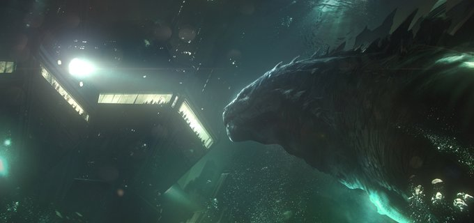 Godzilla 4 - Michael Dougherty Drops a Gaggle of Concept Art Images from GODZILLA: KING OF THE MONSTERS