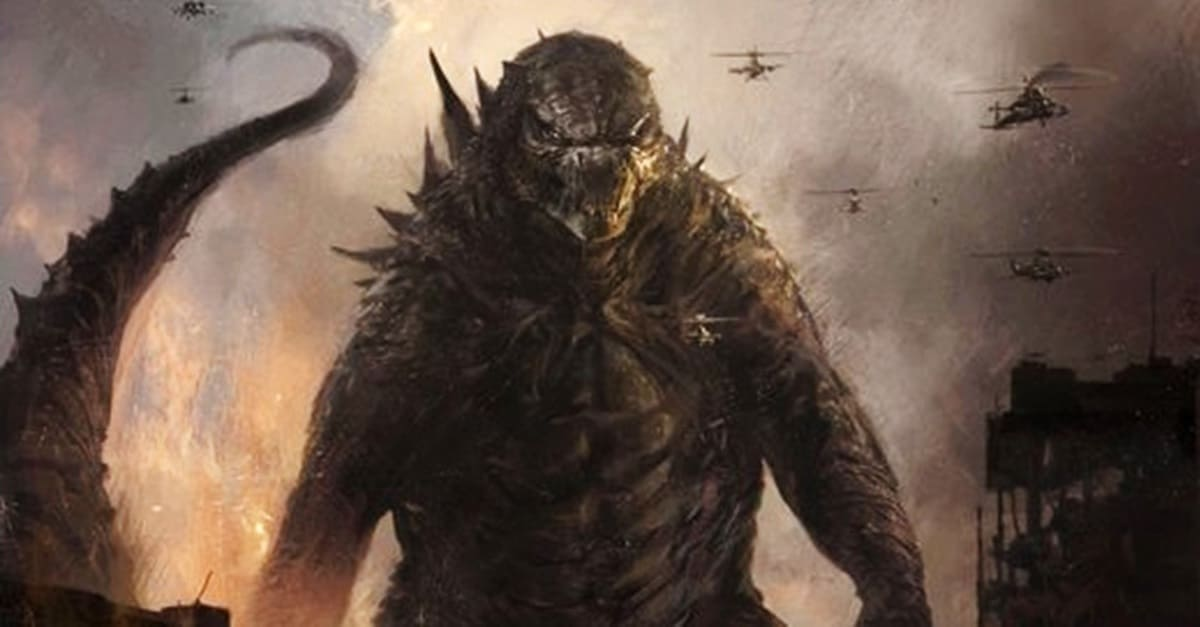 Godzilla Concept Art Banner - Michael Dougherty Drops a Gaggle of Concept Art Images from GODZILLA: KING OF THE MONSTERS