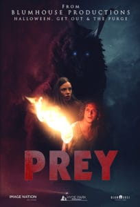 Prey Poster 204x300 - Trailer: Escape a Very Creepy Island in Blumhouse's PREY
