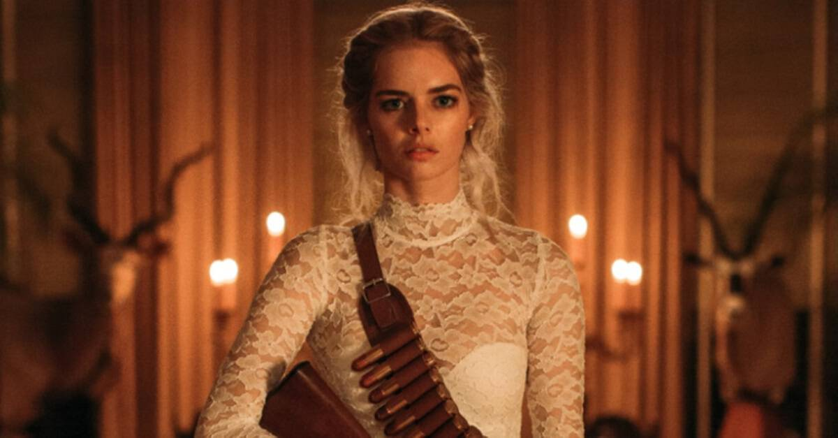 Ready or Not Banner - Exclusive: READY OR NOT's Samara Weaving On DIY Wedding Dresses