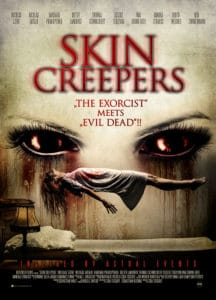 Skin CrawlersPoster 216x300 - NSFW Trailer: SKIN CREEPERS Adds a New Twist to the Demonic Possession Subgenre of Horror