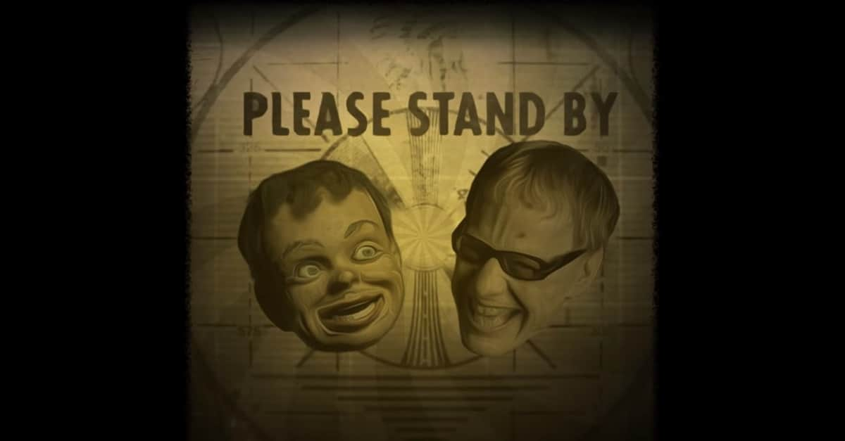 The Danny and Buddy Show Banner - Danny Elfman Has a Creepy Facebook Series About a Haunted Dummy: Check Out THE DANNY & BUDDY SHOW!