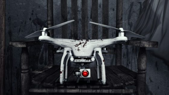 The Drone Banner 560x315 - Check Out Our Exclusive Clip from Techno Horror-Comedy THE DRONE