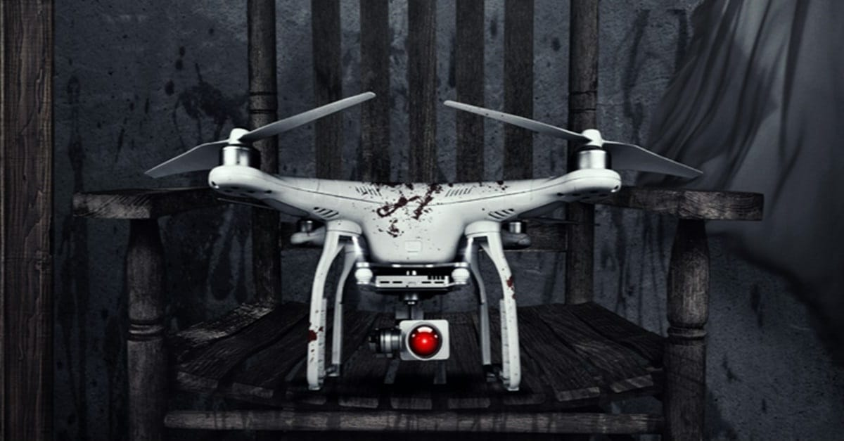 The Drone Banner - Trailer: THE DRONE Gets Naughty in Satirical Techno-Horror