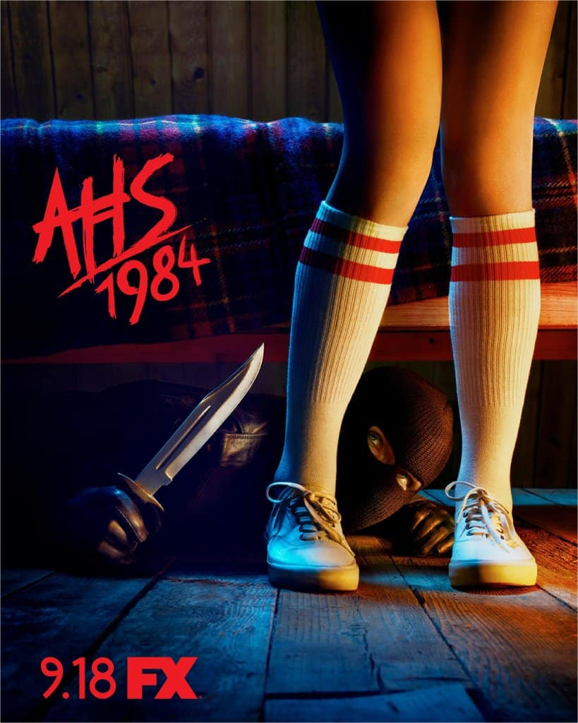 ahs 1984 poster - There's Something Terrifying Under the Bed in Latest Poster for AMERICAN HORROR STORY: 1984