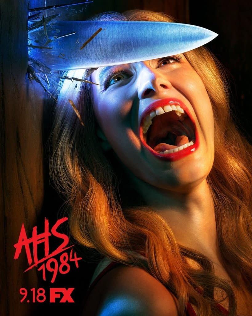 american horror story 1984 poster - Check Out the Official Poster for Slasher-Themed AMERICAN HORROR STORY: 1984
