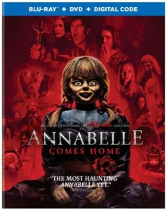 Release Date & Special Features Announced for ANNABELLE COMES HOME Blu-ray/DVD - Dread Central