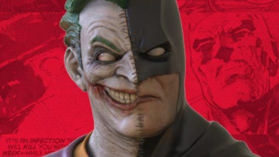 """bxj banner 560x315 - Meet """"BXJ"""": Gruesome Statue Stitches The Joker and Batman into One"""