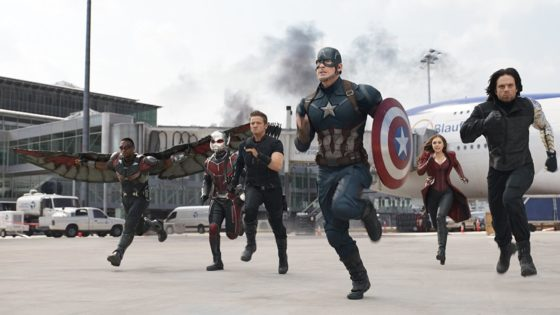 captain america civil war still 1 560x315 - VFX Artists Give The Marvel Cinematic Universe A Gory Makeover