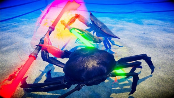 fight crab game image 1 560x315 - FIGHT CRAB Is The Craziest Video Game You'll Ever Play