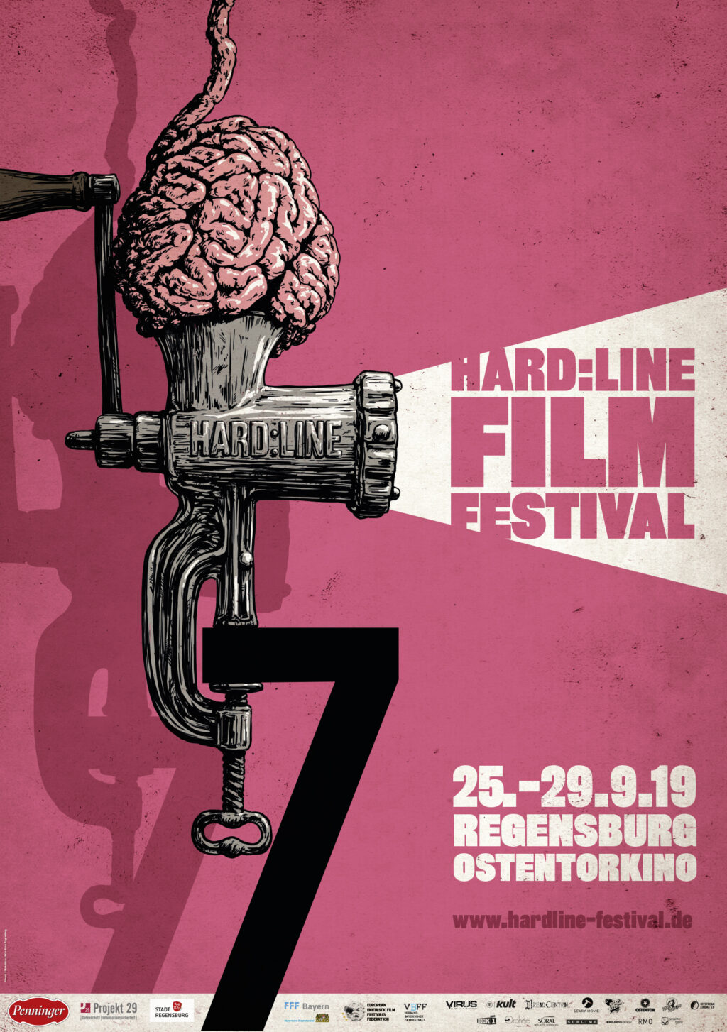 hardline2019poster 1024x1454 - Exclusivo do HARD: LINE 2019: Trailer do Fest de Sangue, Violência e Terror Powers!