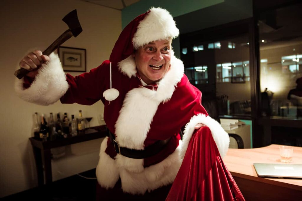 holidayhellstill 1 1024x683 - RE-ANIMATOR's Jeffrey Combs Spins Spooky Tales In HOLIDAY HELL