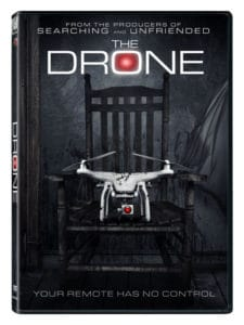 the drone dvd 1 225x300 - FrightFest 2019: THE DRONE Review - One Of The Best Possessed Object Horror Films We've Ever Seen