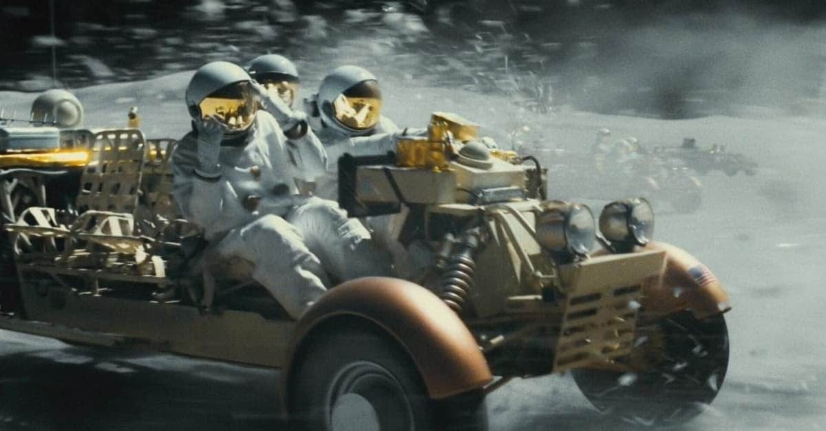 Ad Astra Banner - Battle Pirates on the Moon in Latest Thrilling Clip from AD ASTRA