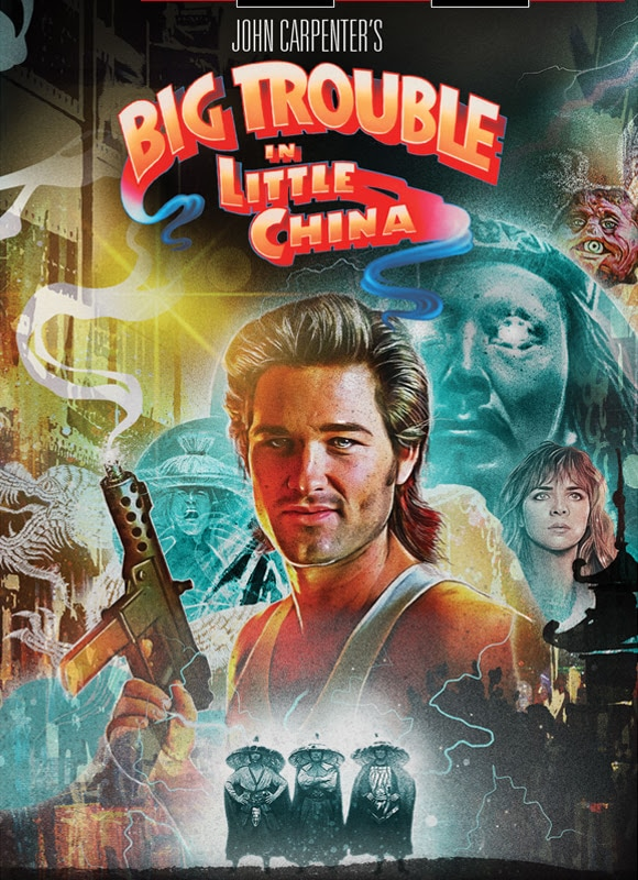 Big Trouble in Little China Poster - Shout! Factory Releasing BIG TROUBLE IN LITTLE CHINA Steelbook & Collector's Edition Bundles
