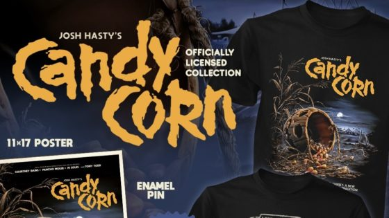 Candy corn fright rags banner 560x315 - CANDY CORN Merch Now Available from Fright-Rags