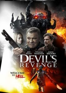 Devils Revenge Poster 213x300 - Trailer: William Shatner protagoniza horror satânico A vingança do diabo