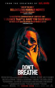 Dont Breathe Poster 188x300 - Exclusive: Stephen Lang Has Read the Screenplay for DON'T BREATHE 2!