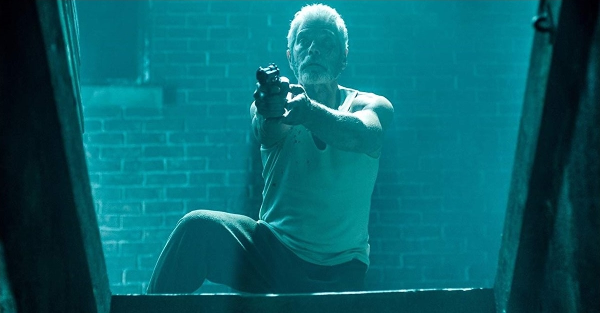 Dont Breathe banner - Exclusive: Stephen Lang Has Read the Screenplay for DON'T BREATHE 2!