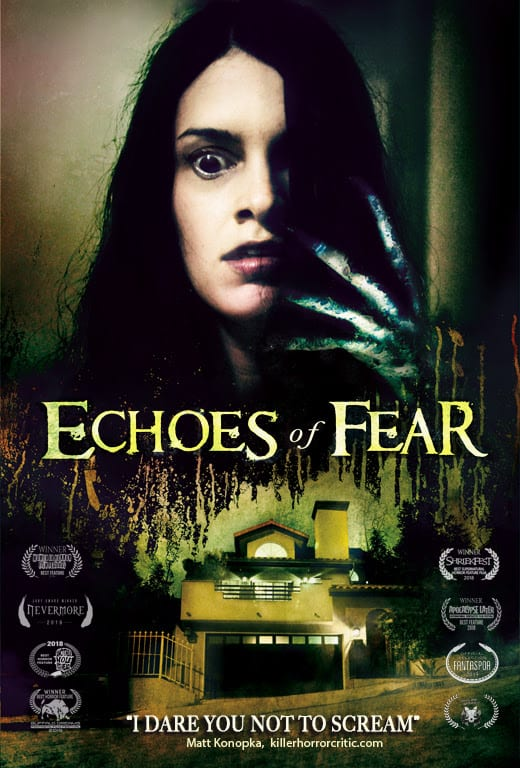 Echoes of Fear - Moviegoers Freak Out in Audience-Reaction Trailer for ECHOES OF FEAR