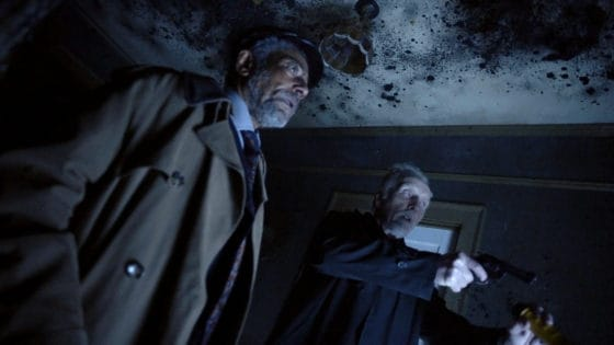 Giancarlo Esposito and Tobin Bell in Gray Matter 560x315 - Interview: Tobin Bell Talks  Different Textures of Horror and Shudder's CREEPSHOW