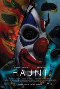 Haunt Poster US 27x40 Preview 203x300 - HAUNT Review – Frighteningly Realistic Haunted Attraction Unmasks the True Horror of Halloween
