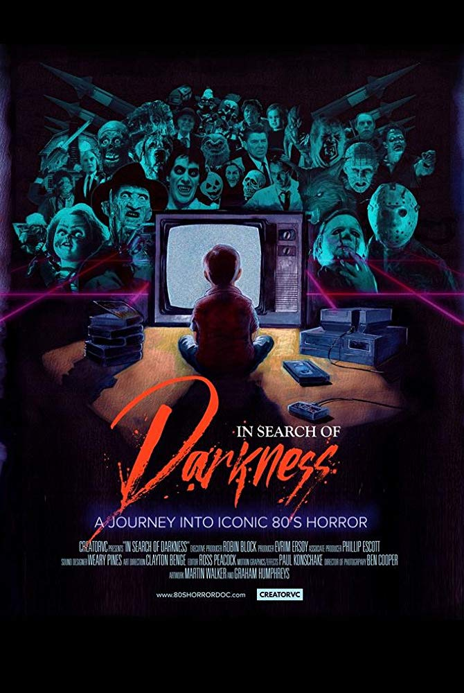 In Search of Darkness Poster - Nick Castle e John Carpenter falam sobre horror em nosso último clipe exclusivo de IN SEARCH OF DARKNESS