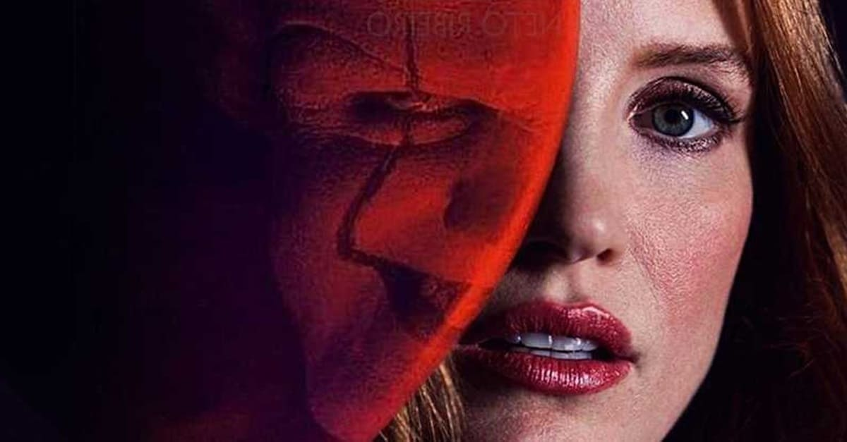 It 2 chastain banner - Jessica Chastain Almost Had a Post-Credits Cameo in IT: CHAPTER ONE!