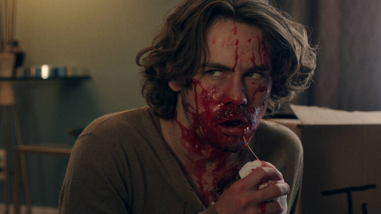 Munro Chambers feature 750x422 - Interview: Munro Chambers on the Deranged Horror Comedy HARPOON, Doing His Own Stunts, and Albatrosses